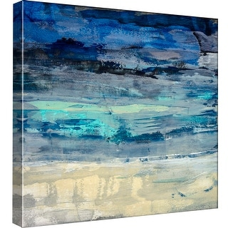 """PTM Images 9-98883  PTM Canvas Collection 12"""" x 12"""" - """"Sky Dream 1"""" Giclee Abstract Art Print on Canvas"""