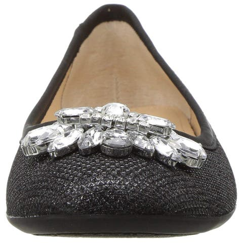 BADGLEY MISCHKA Womens Cabella Closed Toe Ballet Flats