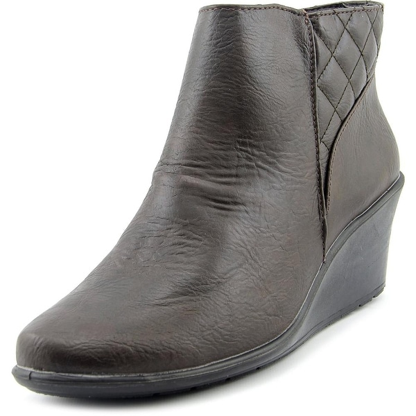Easy Street Aries Women W Round Toe Synthetic Bootie