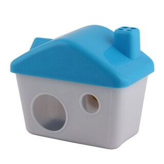 Household Plastic Cabin Shaped Pet Mice Rat Mouse Gerbil Hamster House Room