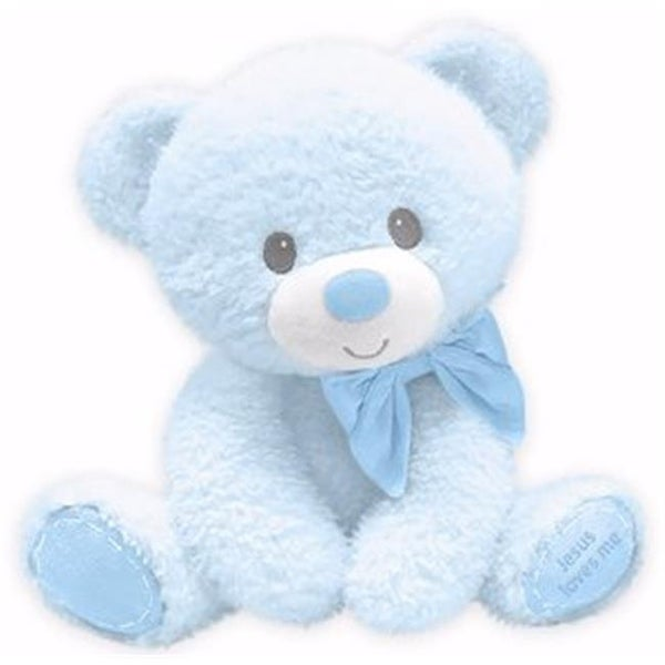 Shop 10 In Tumbles Bear With Jesus Love Me Plush Toy Blue Free