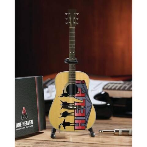 """FF-003 Fab Four- Help! 10"""" Miniature Guitar - Licensed Axe Heaven"""