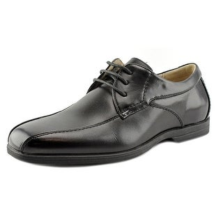Florsheim Reveal Bike Ox Youth Square Toe Leather Black Oxford