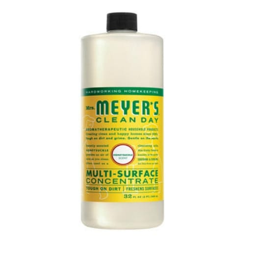 Mrs Meyers Clean Day 17540 Multi Surface Cleaner, Honeysuckle, 32 oz