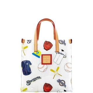Dooney & Bourke MLB Vinyl Brewers Lunch Tote (Introduced by Dooney & Bourke at $58 in Feb 2014) - White