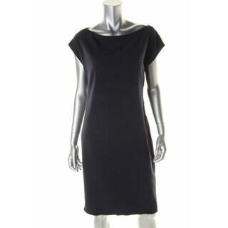 Elie Tahari Womens Logan Cap Sleeves Solid Wear to Work Dress - 10