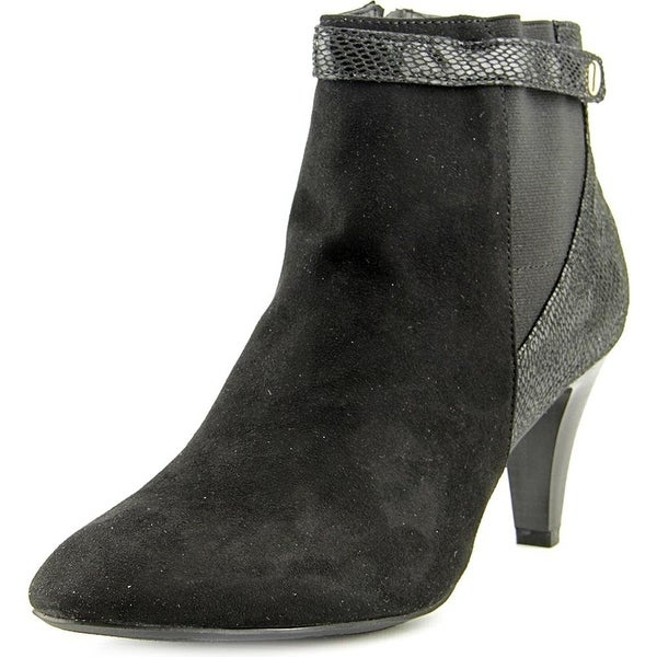 Karen Scott Womens MARRA Closed Toe Ankle Platform Boots