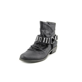 Fergie Margo 2 Round Toe Leather Ankle Boot