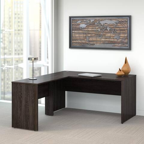 Kensington 60W L Shaped Office Desk by Bush Furniture