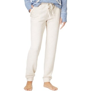 Lucky Brand Womens Sleep Pant Brushed Terry Knit - L