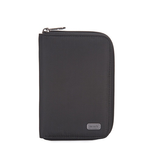 Daysafe Passport Wallet - Black RFID Blocking Passport Wallet