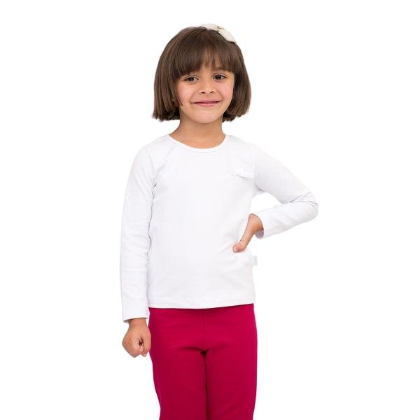 Pulla Bulla Toddler Girls' Long Sleeve Shirt Classic Tee