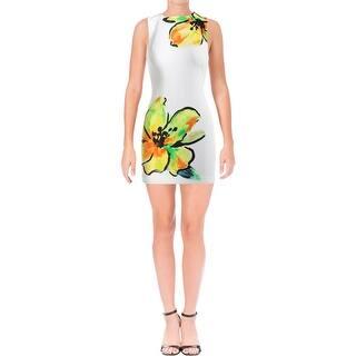 16a4c8641c Lauren Ralph Lauren Womens Petites Wear to Work Dress Floral Print  Sleeveless