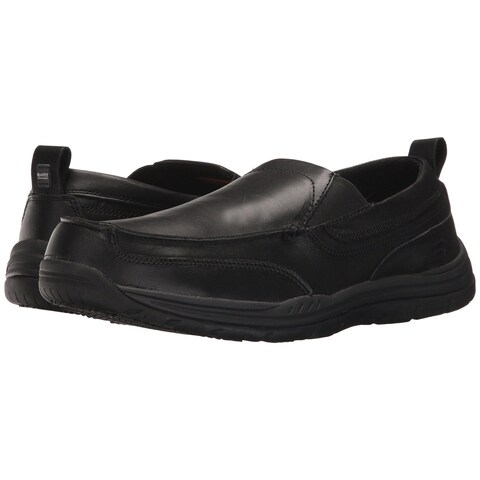 Skechers Mens Otsego Soft toe Pull On Safety Shoes - 11