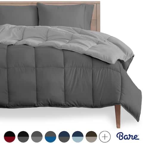 Bare Home Reversible All-Season Down Alternative Comforter