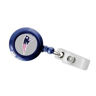 New England Patriots Retractable Badge Reel Id Ticket Clip NFL