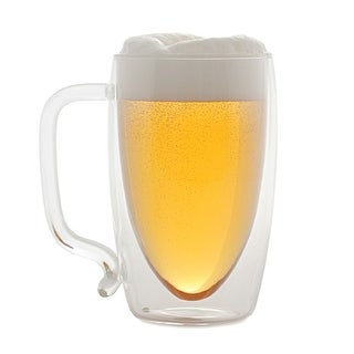 Starfrit Beer Mug - Double Walled - 17 Ounce Cup