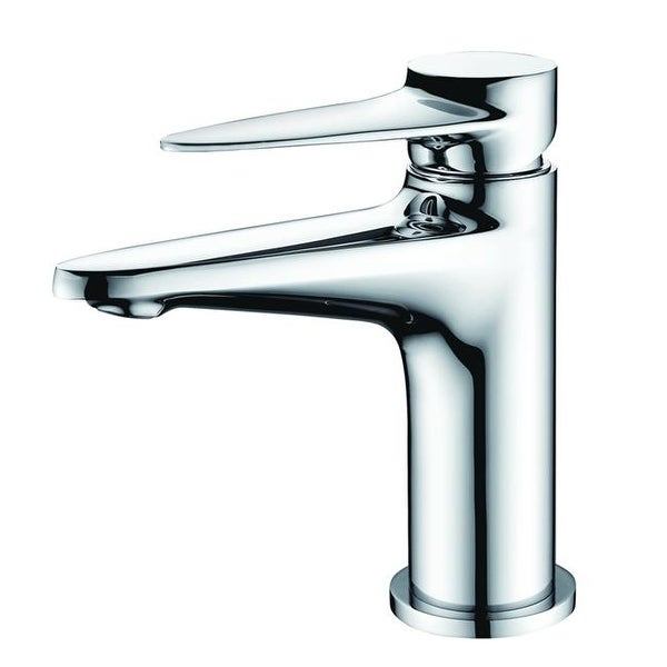 Shop Alfi Brand Modern Single Hole Bathroom Faucet Polished Chrome