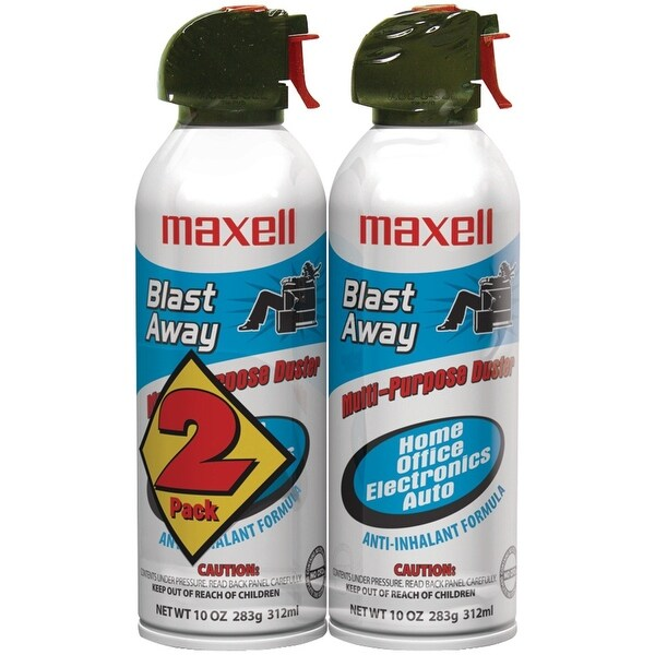 Maxell - Ca-4 Canned Air 10Oz 2-Pack