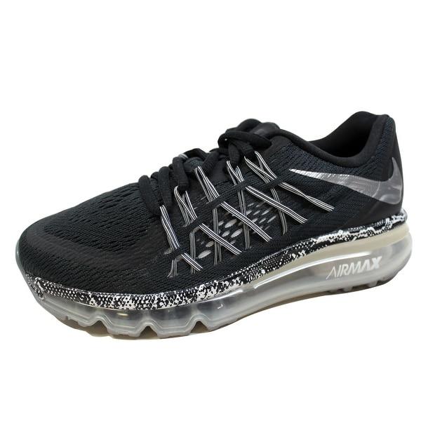 purchase cheap a5666 fd4be Nike Grade-School Air Max 2015 Black Metallic Silver-Cool Grey-White