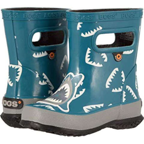 Kids Bogs Boys Style & Co Keppur Ankle Pull On Rain Boots - 5