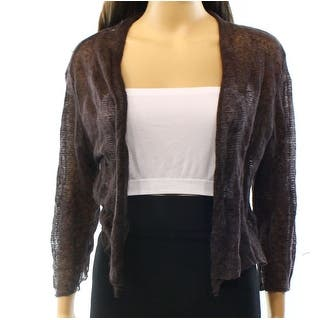 Eileen Fisher NEW Brown Women's Size Medium M Cardigan Sweater|https://ak1.ostkcdn.com/images/products/is/images/direct/5ea86d37558bda88865935aa5433ea61f913c001/Eileen-Fisher-NEW-Brown-Women%27s-Size-Medium-M-Cardigan-Sweater.jpg?impolicy=medium