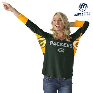Green Bay Packers Wildcard Long Sleeve Women's Tee