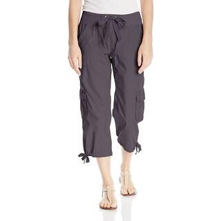 Calvin Klein NEW Gray Women's Size 3X Plus Capris Cropped Pants