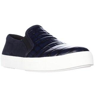 Via Spiga Maliah Slip-On Fashion Sneakers - Navy/Twilight