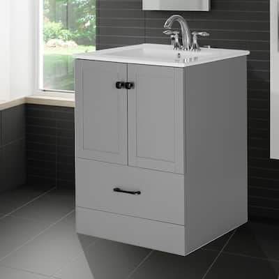 """Zenobia 24"""" Single Bathroom Vanity With Top And Sink Included"""
