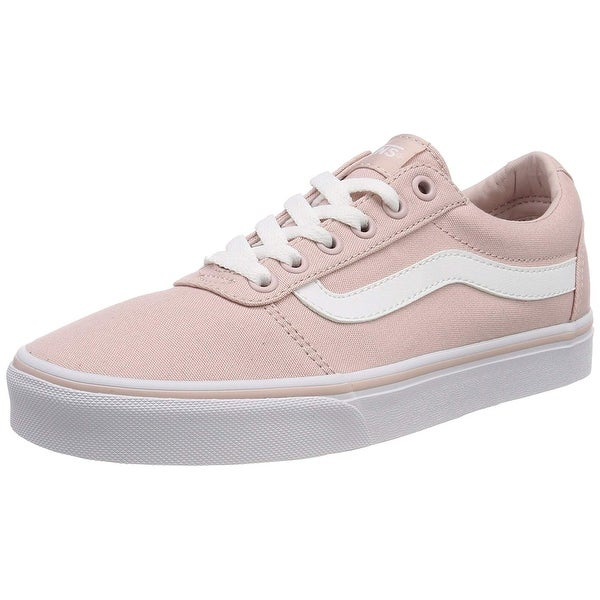 e5a1a630fcca Shop Vans Women S Ward Canvas Low-Top Sneakers