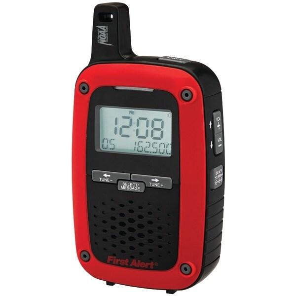 First Alert Sfa1135 Portable Am/Fm Digital Weather Radio With Same Weather Alert