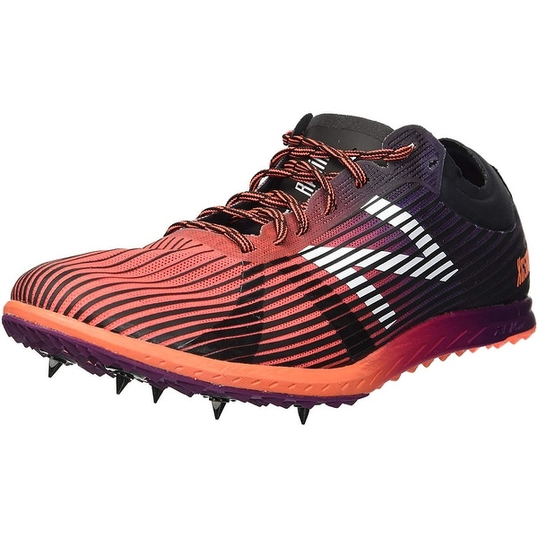 7557c48e42b39 New Balance Womens 5k V4 Cross Country Leather Low Top Lace Up Running  Sneaker