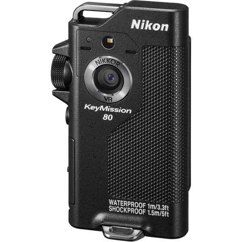 Nikon KeyMission 80 Action Camera (International Model)