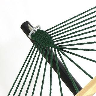 Sunnydaze Caribbean XL Rope Hammock with Spreader Bars