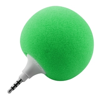 Portable Mini Ball Shape Music Speaker Player Green for Laptop PC Phone