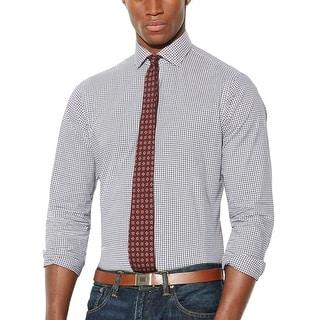 Polo Ralph Lauren Checkered Poplin Estate Shirt Brown X-Large