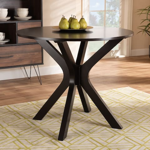 Kenji Modern and Contemporary 35-Inch-Wide Round Dining Table
