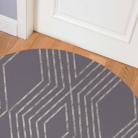 MAYA GREY Indoor Floor Mat By Kavka Designs