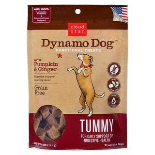 Cloud Star Dynamo Dog Pumpkin & Ginger Tummy Treats