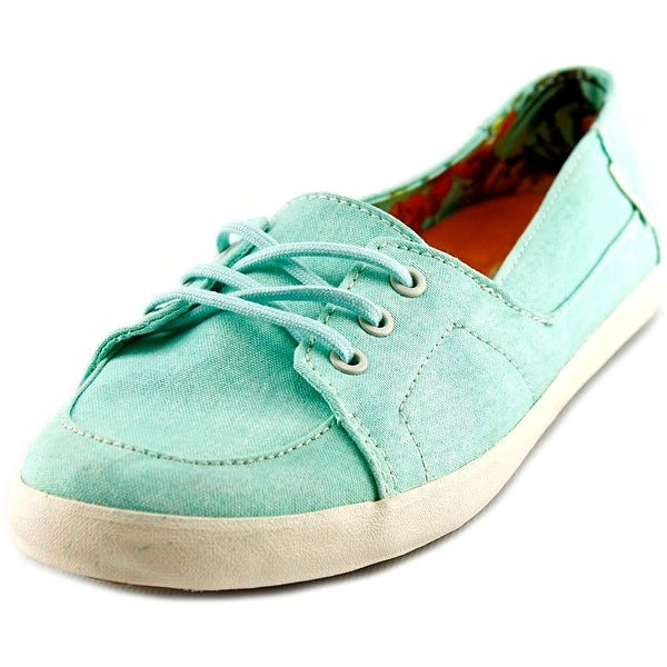 f994fc7cb0 Shop Vans Palisades Vulc Women (Washed Canvas) Beach Glass Sneakers ...