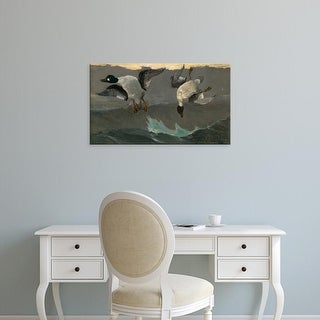 Easy Art Prints Winslow Homer's 'Right and Left' Premium Canvas Art