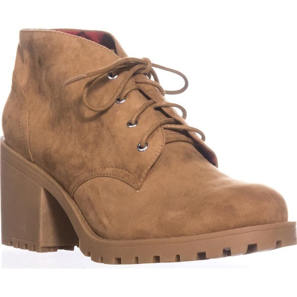 AR35 Reaghan Low Rise Combat Boots, Wheat
