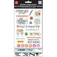 Friends For Life - Glitter Stickers Value Pack