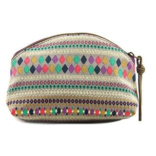 T-Shirt & Jeans Domed Cosmetic Bag Canvas Cosmetic Bag - multi-color