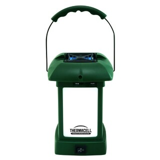 Thermacell MR-9L Outdoor Mosquito Repellent Lantern w/ 3 Repellent Mats & 1 Butane Cartridge