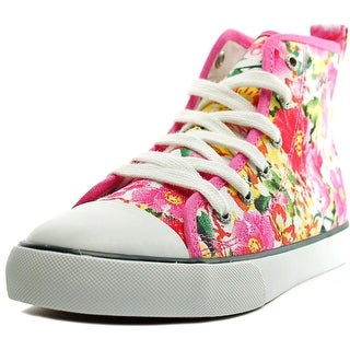 Polo Ralph Lauren Harbour Hi Youth Canvas Pink Fashion Sneakers