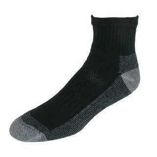 Fruit of the Loom Men's Short Boot Work Socks (5 Pair Pack)