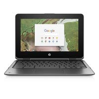 "Refurbished - HP x360 11-ae010nr 11.6"" Touchscreen Laptop N3350 1.1GHz 4GB 16GB eMMC CHROME OS"