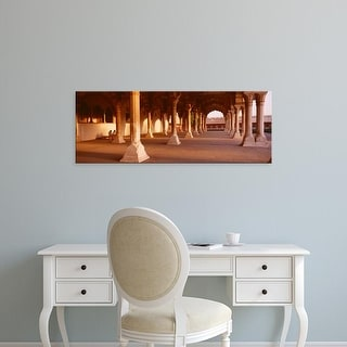 Easy Art Prints Panoramic Images's 'Interiors of a fort, Agra Fort, Agra, Uttar Pradesh, India' Premium Canvas Art